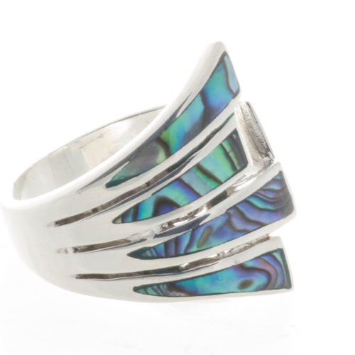Ring mit Abalone edel