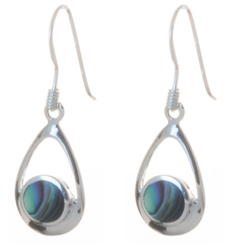 Ohrringe mit Abalone 925 Silber